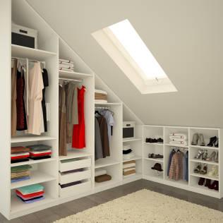 loft wardrobes in north london