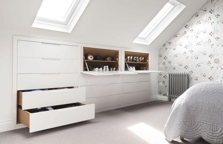 innovative attic bedroom interior design ideas   Loft Wardrobes   Loft Room Wardrobes - Beautiful Bedrooms ...